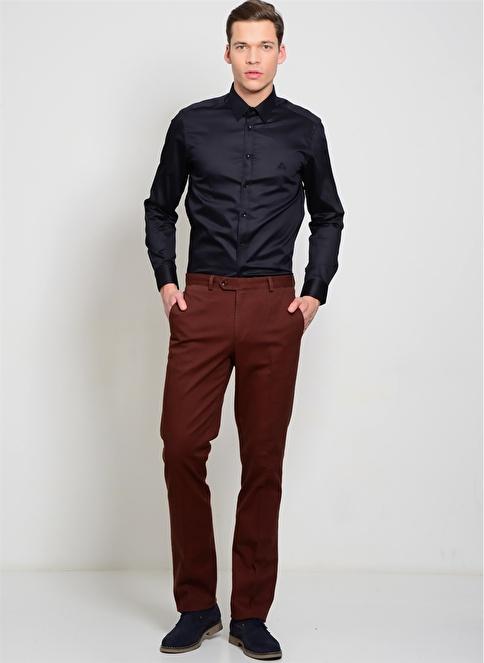 Cotton Bar Klasik Pantolon Kiremit